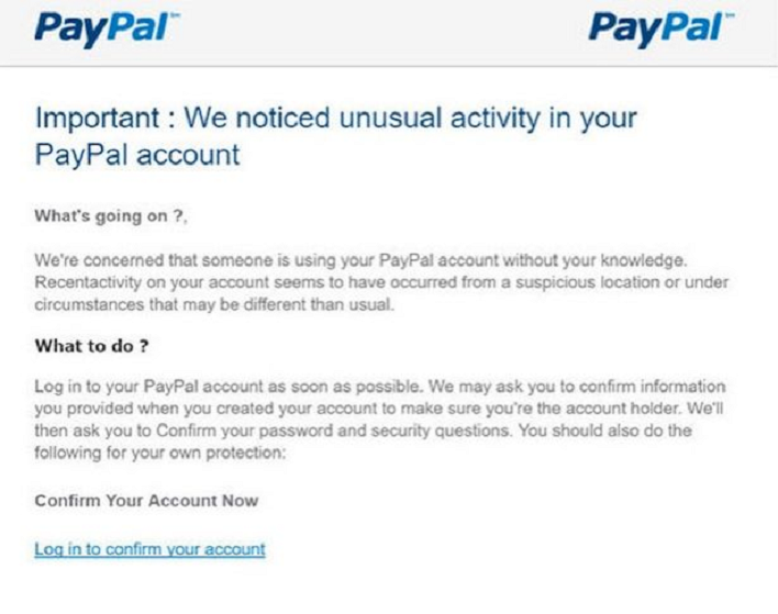 Watch Out for Fraudulent Emails from PayPal